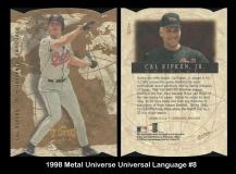 1998 Metal Universe Universal Language #8
