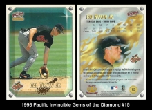 1998 Pacific Invincible Gems of the Diamond #15
