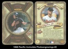 1998 Pacific Invincible Photoengravings #2
