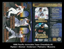 1998 Pacific Invincible Team Checklists #3