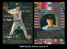 1998 Pacific Omega Online Inserts #1