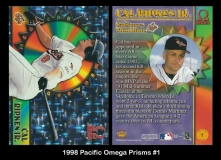 1998 Pacific Omega Prisms #1