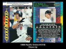 1998 Pacific Online #101B Close Up