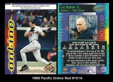 1998 Pacific Online Red #101A