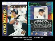 1998 Pacific Online Web Cards #101 Closeup