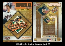 1998 Pacific Online Web Cards #105