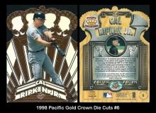 1998 Pacific Gold Crown Die Cuts #6
