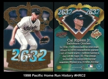 1998 Pacific Home Run History #HRC2
