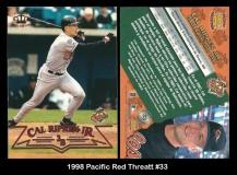 1998 Pacific Red Threatt #33