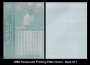1998 Paramount Printing Plate Green - Back
