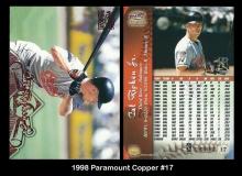 1998 Paramount Copper #17
