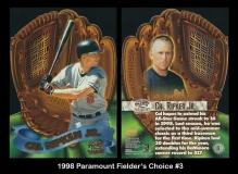 1998 Paramount Fielder's Choice #3