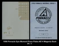 1998-Pinnacle-Epix-Moment-Press-Plates-E14-Magenta-Back