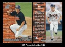 1998 Pinnacle Inside #144
