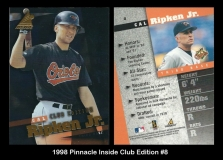 1998 Pinnacle Inside Club Edition #8