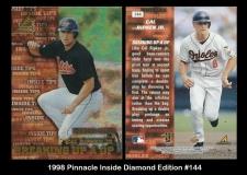 1998 Pinnacle Inside Diamond Edition #144