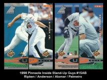 1998 Pinnacle Inside Stand-Up Guys #15AB