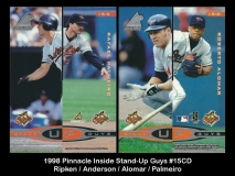 1998 Pinnacle Inside Stand-Up Guys #15CD