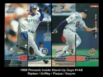 1998 Pinnacle Inside Stand-Up Guys #1AB