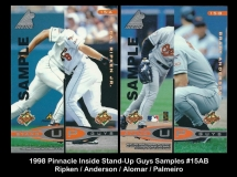 1998 Pinnacle Inside Stand-Up Guys Samples #15AB