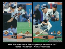1998 Pinnacle Inside Stand-Up Guys Samples #15CD