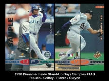 1998 Pinnacle Inside Stand-Up Guys Samples #1AB