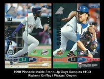1998 Pinnacle Inside Stand-Up Guys Samples #1CD