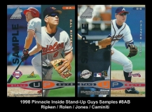 1998 Pinnacle Inside Stand-Up Guys Samples #8AB