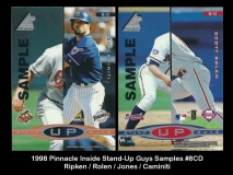 1998 Pinnacle Inside Stand-Up Guys Samples #8CD
