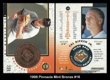 1998 Pinnacle Mint Bronze #18