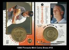 1998 Pinnacle Mint Coins Brass #18