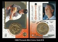 1998 Pinnacle Mint Coins Gold #18