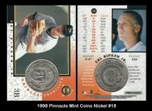 1998 Pinnacle Mint Coins Nickel #18