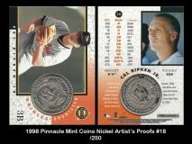 1998 Pinnacle Mint Coins Nickel Artists Proofs #18