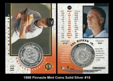 1998 Pinnacle Mint Coins Solid Silver #18