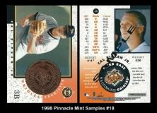1998 Pinnacle Mint Samples #18