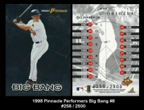1998 Pinnacle Performers Big Bang #8