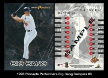 1998 Pinnacle Performers Big Bang Samples #8