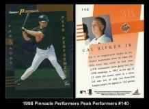 1998 Pinnacle Performers Peak Perfomers #140