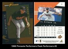 1998 Pinnacle Performers Peak Perfomers #3
