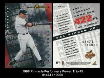 1998 Pinnacle Performers Power Trip #5