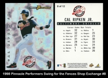 1998 Pinnacle Performers Swing for the Fences Shop Exchange #8