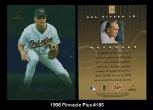 1998 Pinnacle Plus #185
