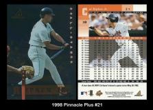 1998 Pinnacle Plus #21