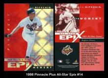 1998 Pinnacle Plus All-Star Epix #14