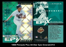 1998 Pinnacle Plus All-Star Epix Emerald #14
