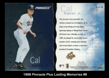 1998 Pinnacle Plus Lasting Memories #8
