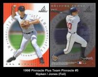 1998 Pinnacle Plus Team Pinnacle #5 Jones Foil