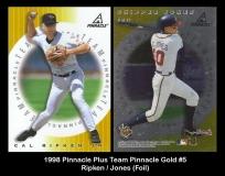 1998 Pinnacle Plus Team Pinnacle Gold #5 Jones Foil