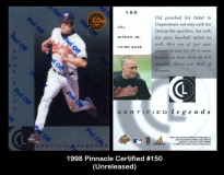 1998 Pinnacle Certified #150
